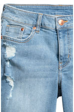 Long denim shorts - Denim blue - Ladies | H&M CN 4